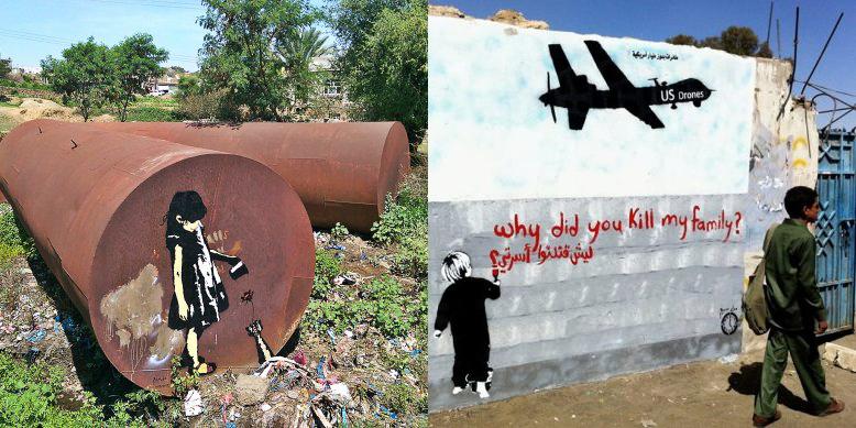Murad Subay, Graffiti